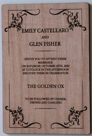 Wedding Invitations 7