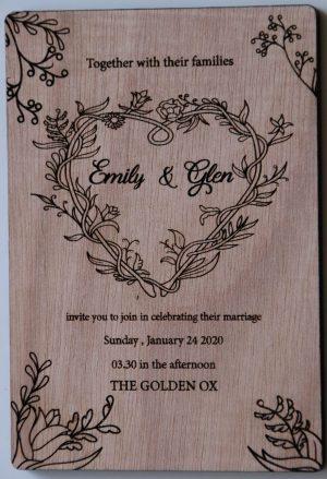 Wedding Invitations 9