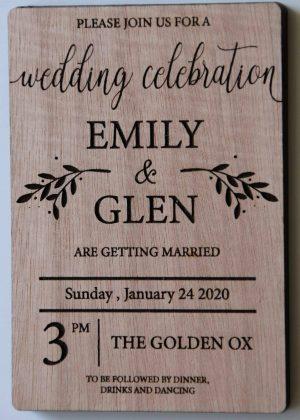 Wedding Invitations 5