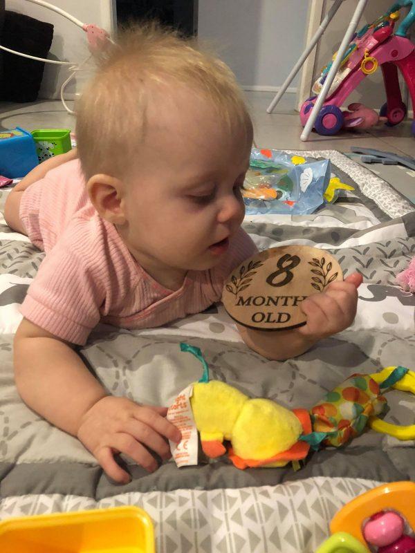 Newborn Milestone Cards