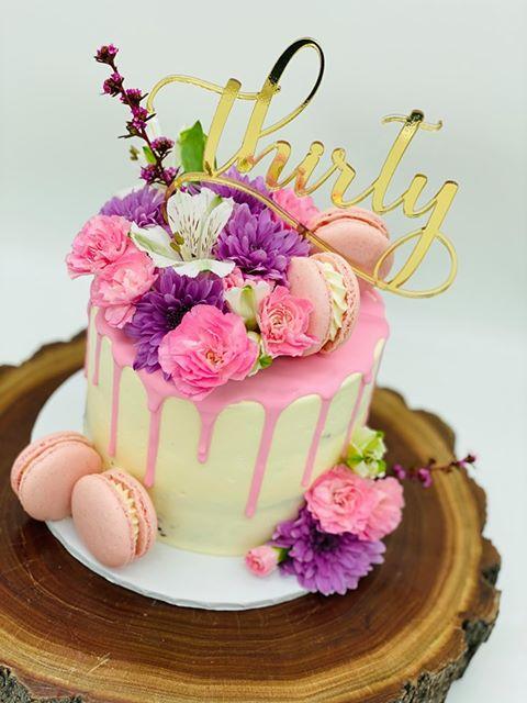 Thirty - Birthday Cake Topper 1